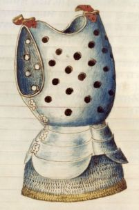 "This piece of armor encountered a thug with a ""Mata Caballero""."